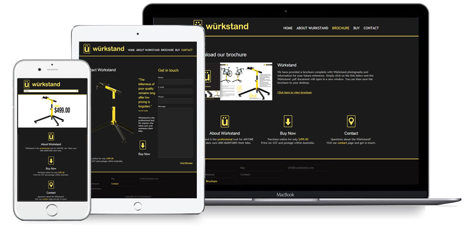 Responsive Website Design Wurkstand